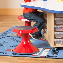 Active Learning Stool - Red