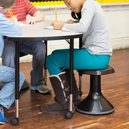 Active Learning Stool - Black