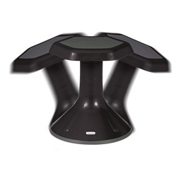 "Active Learning Stool (20"" Stool Height) - Black - Range of Motion"