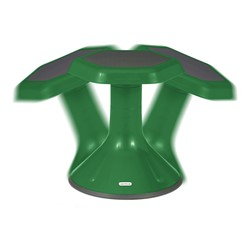 "Active Learning Stool (20"" Stool Height) - Green - Range of Motion"