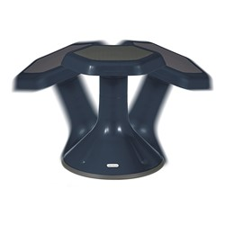 """Active Learning Stool (18"""" Stool Height) - Navy - Range of Motion"""