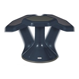 "Active Learning Stool (12"" Stool Height) - Navy - Range of Motion"
