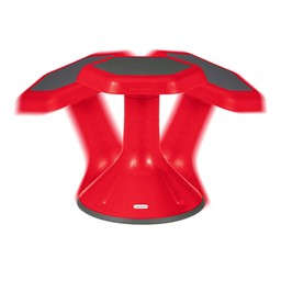 "Active Learning Stool (12"" Stool Height) - Red - Range of Motion"
