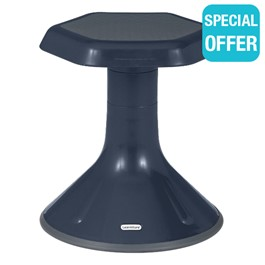 """Active Learning Stool (15\"""" Stool Height) - Navy"""