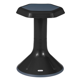 """Active Learning Stool (18\"""" Stool Height) - Shown in Black"""