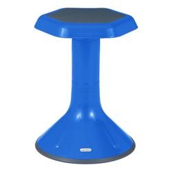 "Trapezoid Collaborative Desk & 18"" Active Learning Stool Set - Stool"