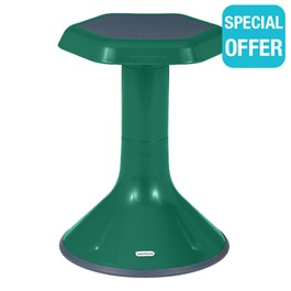 "Active Learning Stool (18"" Stool Height) - Green"