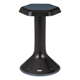 """Active Learning Stool (20\"""" Stool Height) - Black"""