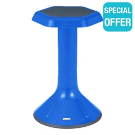 "Active Learning Stool (20"" Stool Height) - Blue"