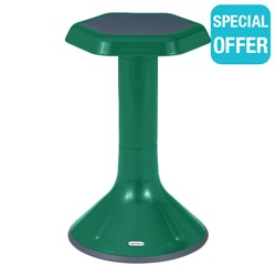 "Active Learning Stool (20"" Stool Height) - Green"