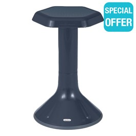 """Active Learning Stool (20\"""" Stool Height) - Navy"""