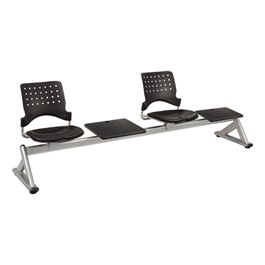 Ballard Series Beam Seating w/ 2 Padded Vinyl Seats & 2 Tables