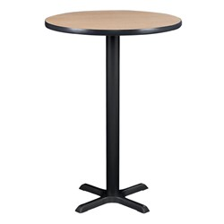 Round Pedestal Stool-Height Cafe Table and Ballard Cafe Stool Set - Table