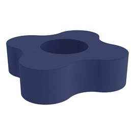 """Shapes Series II Vinyl Soft Seating - Gear Shape w/ Four Points (12\"""" H) - Navy"""