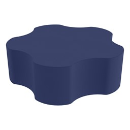 """Shapes Series II Vinyl Soft Seating - 5 Point Gear Shape (12"""" H) - Navy"""