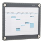 Glass Dry Erase Calendar (Calendar insert not included)