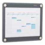 Glass Dry Erase Calendar (Calendar insert not included)