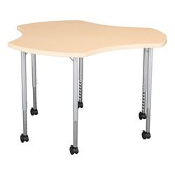 Crescent & Cog Mobile Collaborative Table Set - Cog