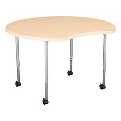 Crescent & Cog Mobile Collaborative Table Set - Crescent