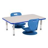 Floor Study Tables