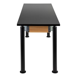 "Adjustable-Height Science Table w/ Black Legs & Chemical Resistant Top (24"" W x 72"" L)"