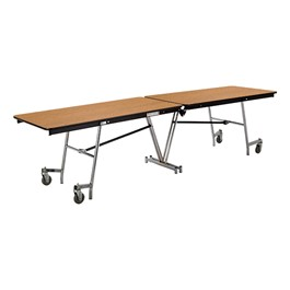 Rectangle Mobile Cafeteria Table w/ MDF Core & Protect Edge