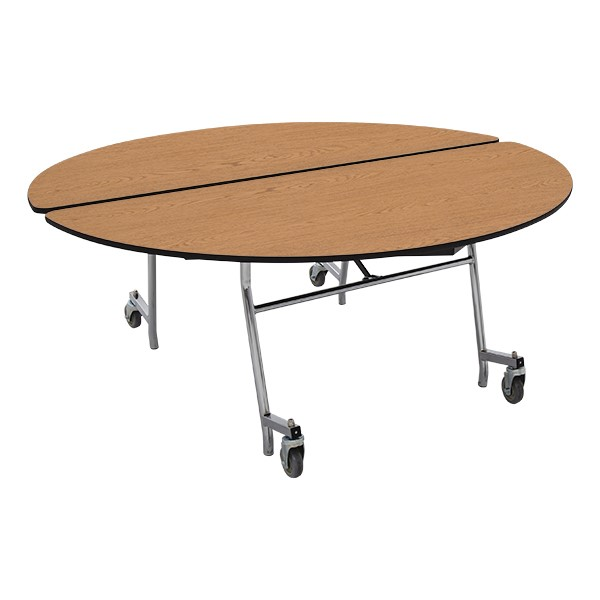 "Round Mobile Cafeteria Table (60"" Diameter)"
