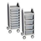 Tote Tray Storage Carts