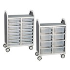 Taboret & Tote Tray Carts