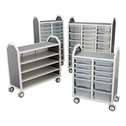 Profile Series Mobile Classroom Storage Cart