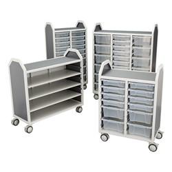 Profile Series Mobile Classroom Storage Cart