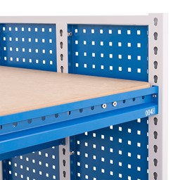 "Creation Station Workbench Kit - Square (30"" L x 30"" D x 36"" H) - Desktop Edge - Detail"
