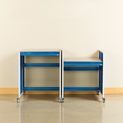 """Creation Station Set - Two Workbenches (30"""" L x 36"""" D x 36"""" H)"""