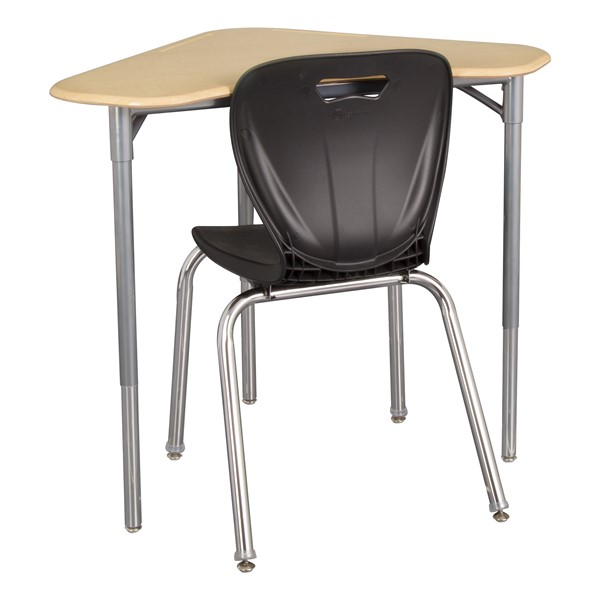 Boomerang Collaborative Desk w/o Wire Box - Chair not included