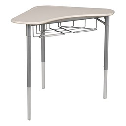 Boomerang Collaborative Desk - Gray Spectrum