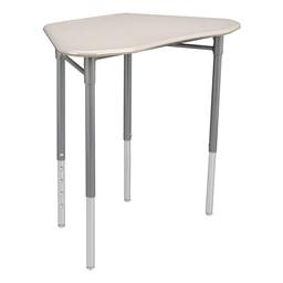 Hex Collaborative Desk - Gray Spectrum