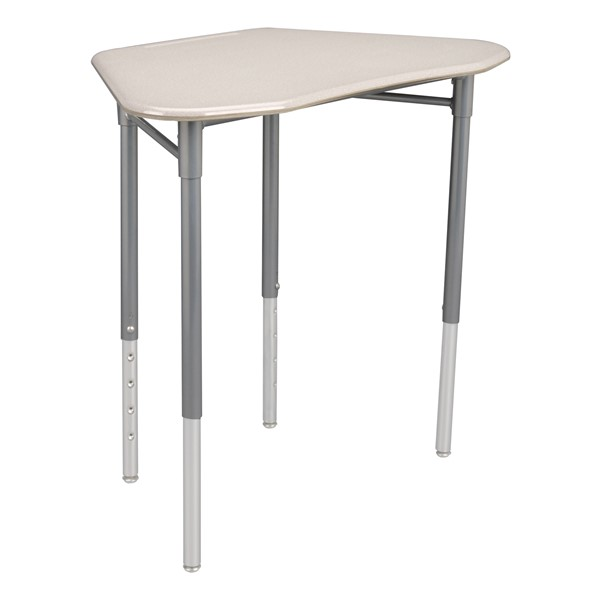 Hex Collaborative Desk - Gray Spectrum