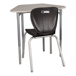 Hex Collaborative Desk - Chair not included
