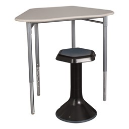 Hex Collaborative Desk - Stool not included