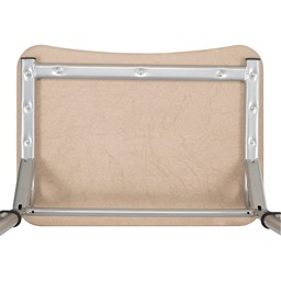 Rectangle Cantilever Desk w/ Curved Edge - Frame