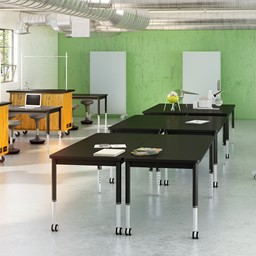 Adjustable-Height Science Table w/ Laminate Top-Shown ei Env