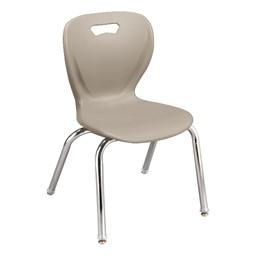 Shape Series School Chair - Stone