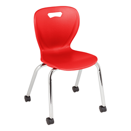 "Shapes Series Mobile School Chair (16"" H)"