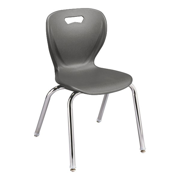 Learniture Shapes Series School Chair Red 14 Seat Height Pack of 4 LNT-INM3014RD-SO