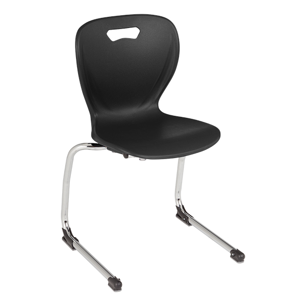 """Shapes Series Cantilever School Chair (18"""" H)"""