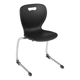 Shapes Series Cantilever School Chair - Black
