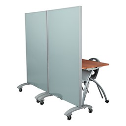 Double-Sided Tempered Glass Partition