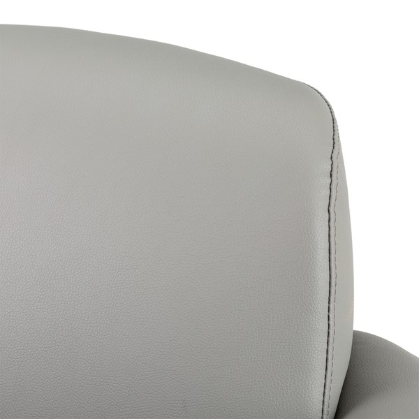 Antimicrobial Lounge Chair w/ Storage - Back detail