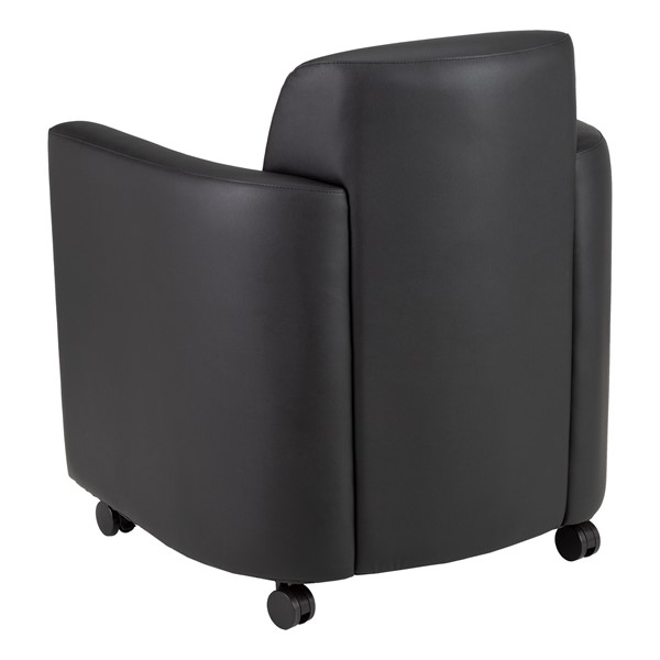 Antimicrobial Lounge Chair w/ Storage - Back