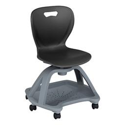 Shape Series Mobile Chair - Black